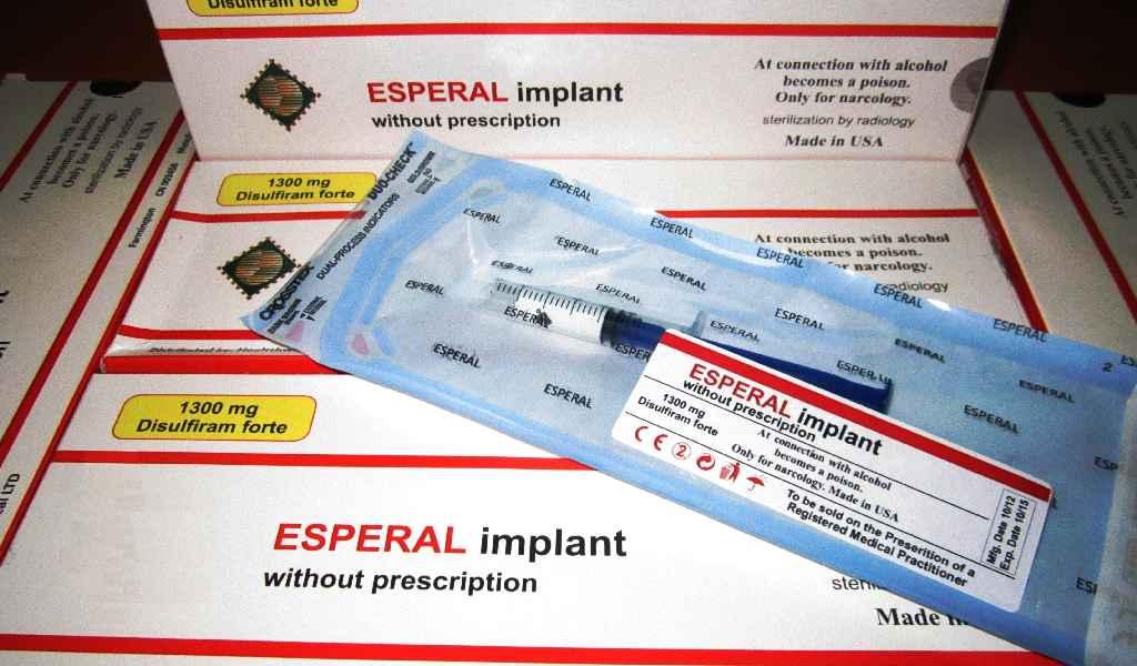 Имплантация препарата Эспераль в Колюбакино стоимость
